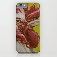 White Rooster iPhone 6 Slim Case