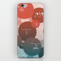 Blood Cells iPhone & iPod Skin