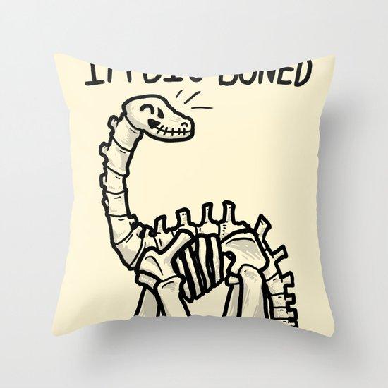Big Boned Throw Pillow