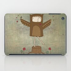 Little Owl Girl iPad Case