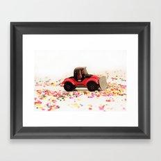 Candy Land Construction Framed Art Print