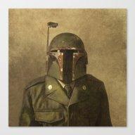 General Fettson (square … Canvas Print