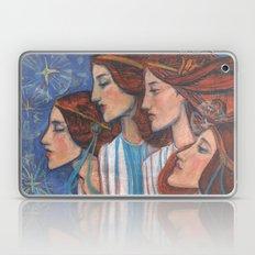 Tribute To Art Nouveau Laptop & iPad Skin