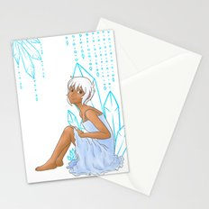 Isabelle and crystals Stationery Cards