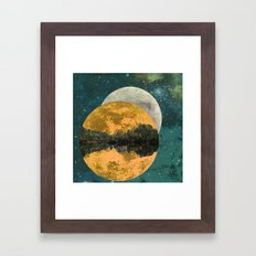 Because of parallel possibilities Framed Art Print