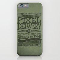 Handwriting: Pixel Delivery iPhone 6 Slim Case