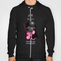Berto: The Mental-issue pig trying Darth Vader costume Hoody