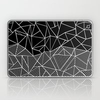 Ab Half and Half Black Laptop & iPad Skin