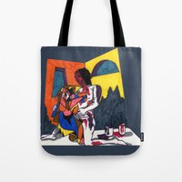 The Artist And His Artwo… Tote Bag