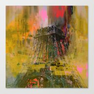 Paris  Forever   (A Day … Canvas Print