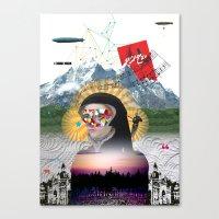 Broad Horizon Canvas Print