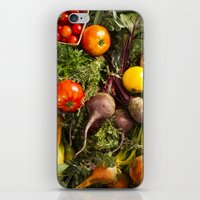 Mixed Organic Vegetables With Tomatoes Beets & Carrots iPhone & iPod Skin