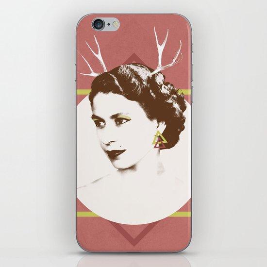 Elizabeth II : The Bold iPhone & iPod Skin