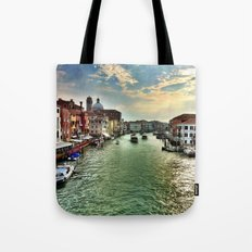 Sunrise on the Grand Canal, Venice Tote Bag