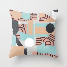 The Mole Throw Pillow