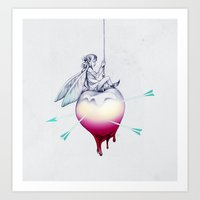 Apple Fairy Art Print