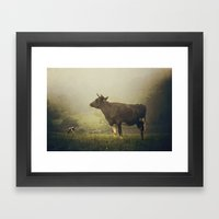 Dairy Day Framed Art Print