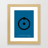 Dr, Manhattan Framed Art Print