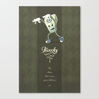 Bloochy Canvas Print