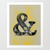 Ampersand Series - Baske… Art Print