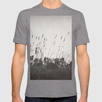 Dance in the Wind Mens Fitted Tee Tri-Grey SMALL
