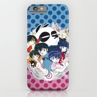 iPhone Cases featuring Ranma 1/2 by Trigun29