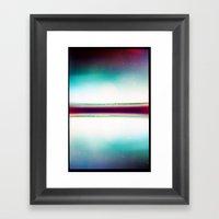 AL (35mm Multi Exposure) Framed Art Print