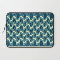 Barrels Pattern Laptop Sleeve