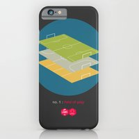 iPhone & iPod Case featuring Law No.1: Field of Play by Betirri