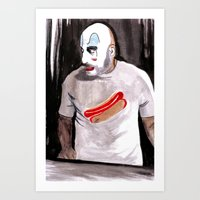 Come On Down To Captain Spaulding's Museum Of Monsters And Mad-Men  Art Print