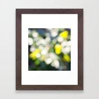 Spring Bokeh Framed Art Print