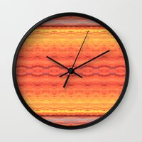 Missoula Cloudscape I Wall Clock