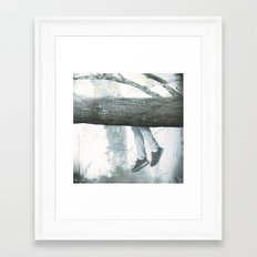 Hang on Framed Art Print