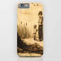 iPhone & iPod Case featuring Do You See Them? by Red Lady Locks