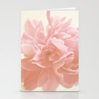 Peony Bloom Stationery Cards