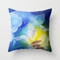 Gently Into The Light Throw Pillow