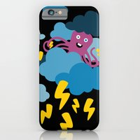 iPhone Cases featuring Who Makes the Thunder? by XOOXOO
