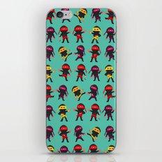Ninjas iPhone & iPod Skin