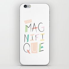 c'est magnifique iPhone & iPod Skin