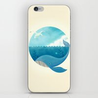 Whale & Seagull (US And … iPhone & iPod Skin