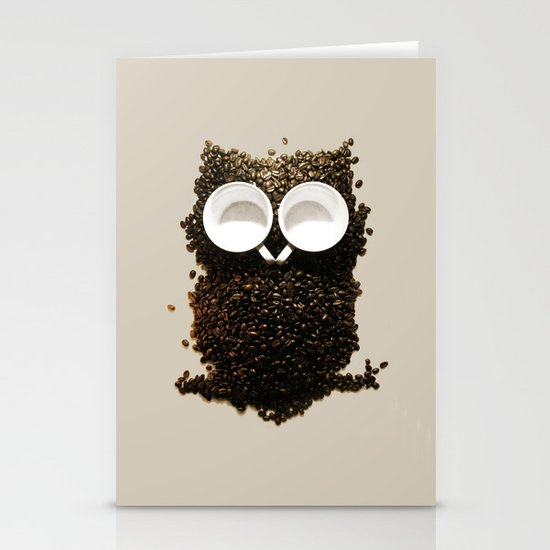 Hoot! Night Owl! Stationery Card