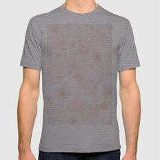 twist Mens Fitted Tee Athletic Grey SMALL
