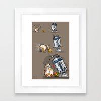 Droid Playtime Framed Art Print