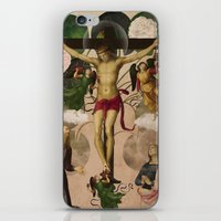 Saints Collection -- Re-… iPhone & iPod Skin