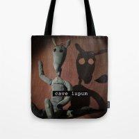 cave lupum II Tote Bag