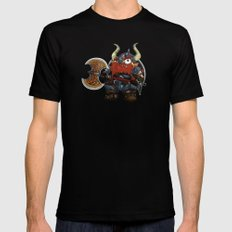 dwarf Black SMALL Mens Fitted Tee