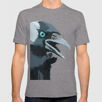 Corvus Monedula Has A St… Mens Fitted Tee Tri-Grey SMALL