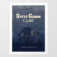 Steve Gunn + Ocellot Art Print