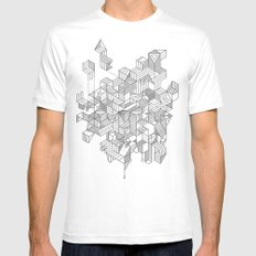 Simplexity Mens Fitted Tee White SMALL