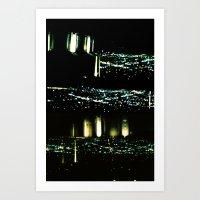Los Angeles Through A Pi… Art Print